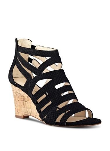 Nine West %100 Nubuk Casual Ayakkabı Siyah